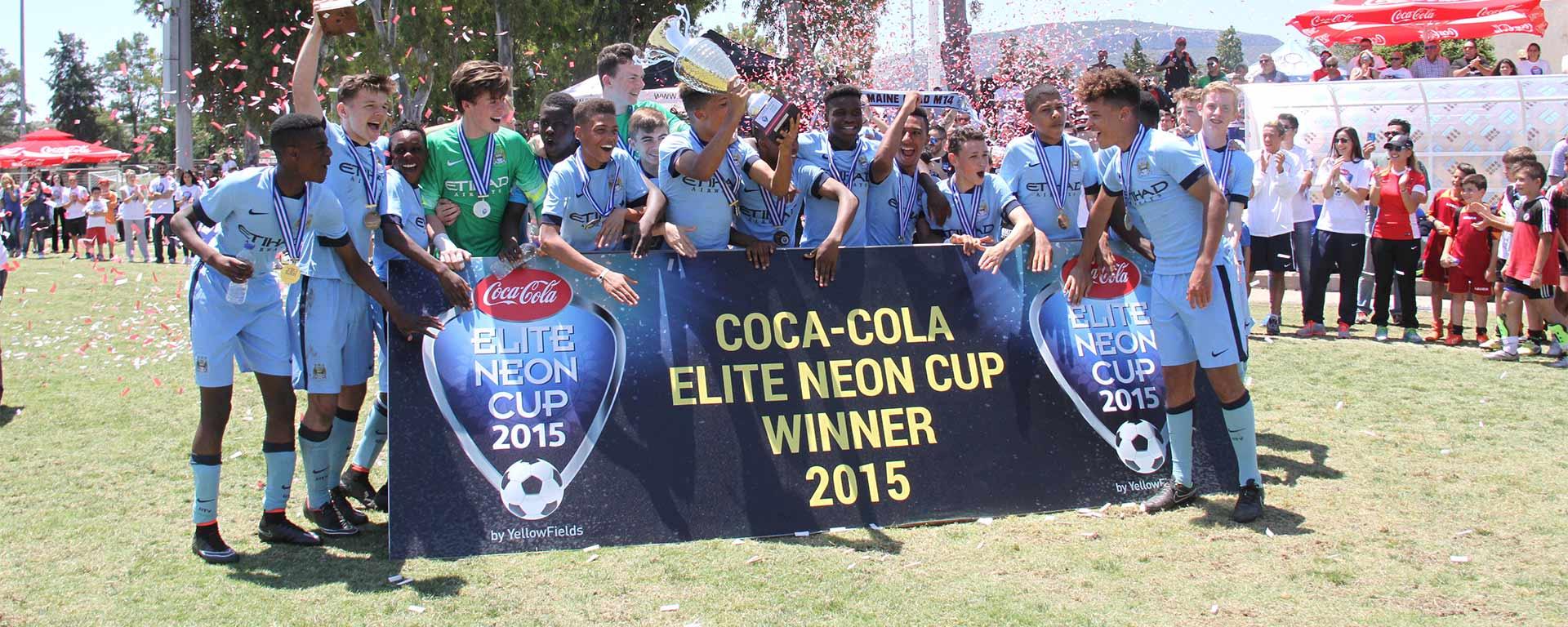 Coca-Cola Elite Neon Cup 2015