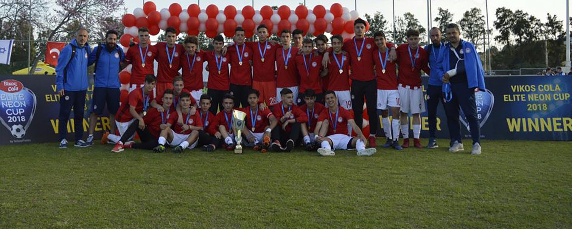 Vikos Cola Elite Neon Cup 2018